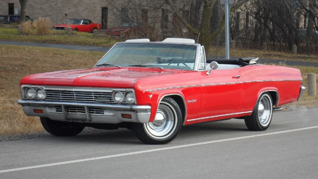 1966 Chevrolet Impala Ss Super Sport Convertible Stock