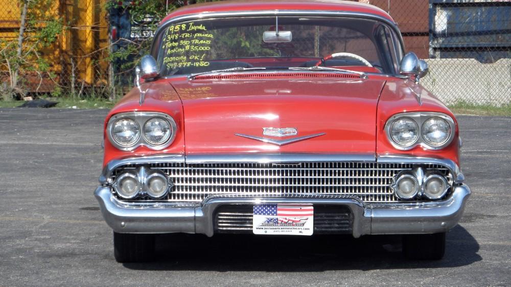 Used 1958 Chevrolet Impala 348 TRI POWER-CLEAN RARE CAR-SEE VIDEO   Mundelein, IL
