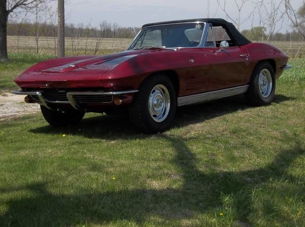 Used 1963 Chevrolet Corvette NUMBERS MATCHING ROADSTER-Restored in 2003-HARD TO FIND | Mundelein, IL