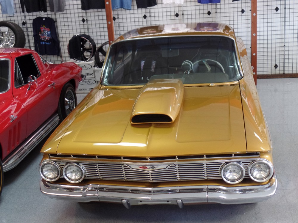 Used 1961 Chevrolet Impala BUBBLE TOP-RESTORED PRO STREET-BARRETT JACKSON CAR-SEE VIDEO | Mundelein, IL