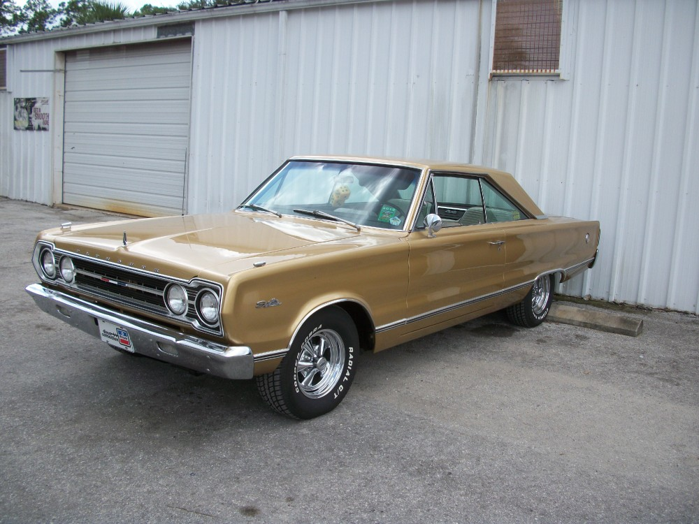 1967 plymouth satellite from florida nice and clean 440. Black Bedroom Furniture Sets. Home Design Ideas