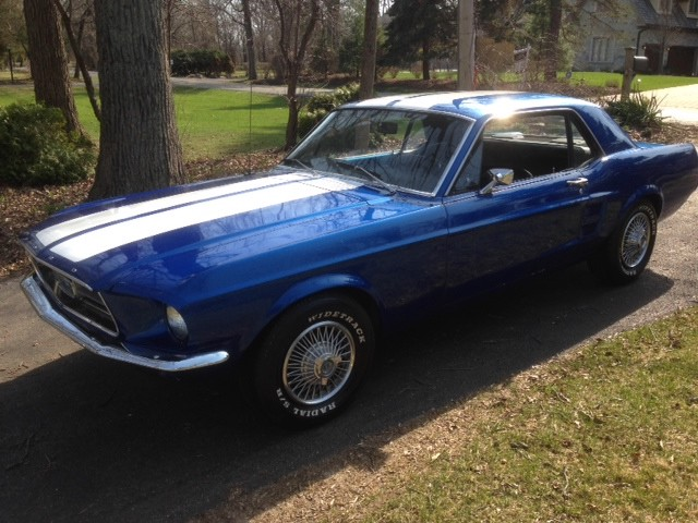 1967 Ford Mustang Clean Driver Best Color Combo Stock