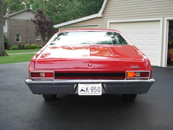 Used 1972 Chevrolet Nova RALLY-THE POOR MANS SUPER SPORT | Mundelein, IL