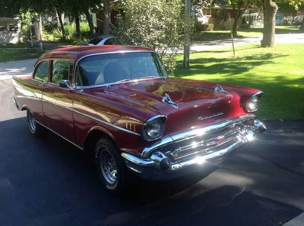 Used 1957 Chevrolet Bel Air 210 MODEL-FREE SHIPPING | Mundelein, IL