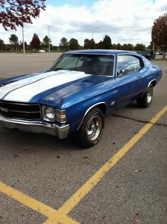 Used 1971 Chevrolet Chevelle REBUILT BIG BLOCK 4,500 MILES | Mundelein, IL