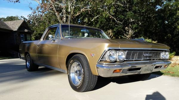 Used 1966 Chevrolet El Camino REBUILT 283-LOW MILES-RARE 4 SPEED-FREE SHIPPING | Mundelein, IL