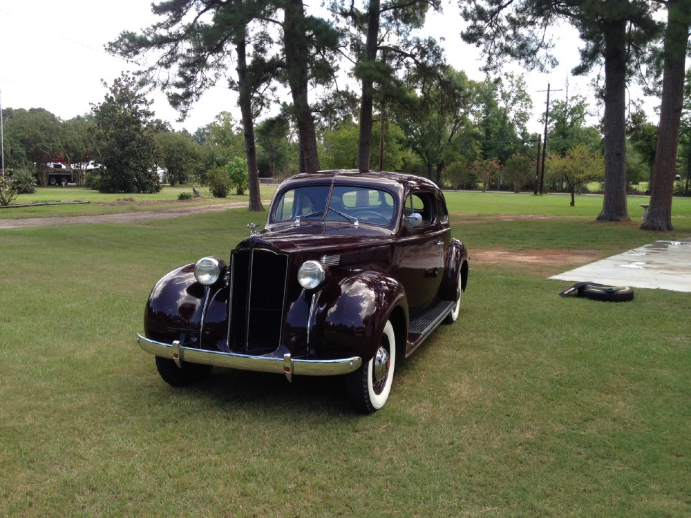 1938 packard club coupe model 1600 rust free southern car free shipping stock 1938txdz for. Black Bedroom Furniture Sets. Home Design Ideas