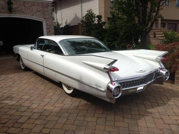 Used 1959 Cadillac Coupe DeVille ORIGINAL MILES!!-FREE SHIPPING | Mundelein, IL
