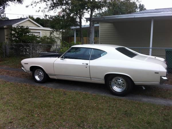 Used 1969 Chevrolet Chevelle FLORIDA CAR-WORKING AC-GOOD DRIVER-FREE SHIPPING | Mundelein, IL