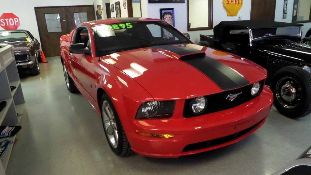 ford mustang gt roush supercharged stock osc