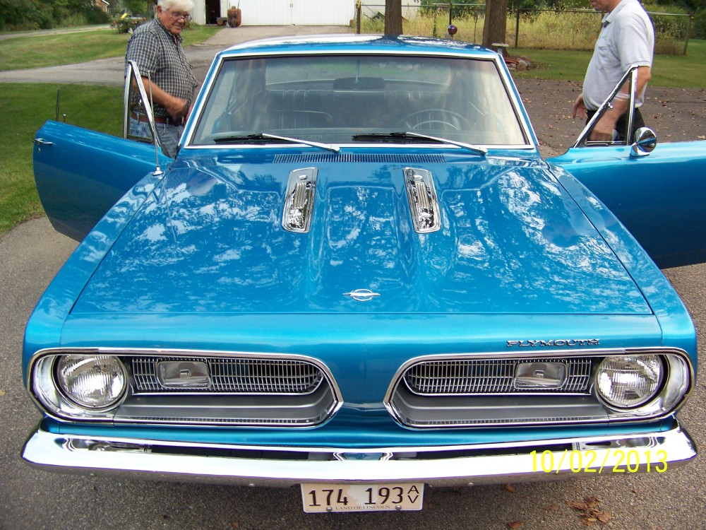 Used 1968 Plymouth Barracuda / Cuda RESTORED CUDA - ORIGINAL 318 V8- ELECTRIC BLUE METALLIC | Mundelein, IL