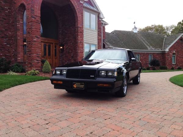 Used 1987 Buick Grand National 2 OWNER CAR-FREE SHIPPING | Mundelein, IL