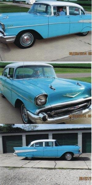 Used 1957 Chevrolet Bel Air RUST FREE-RARE CLASSIC-only 41,000 Original Miles-FREE SHIPPING | Mundelein, IL