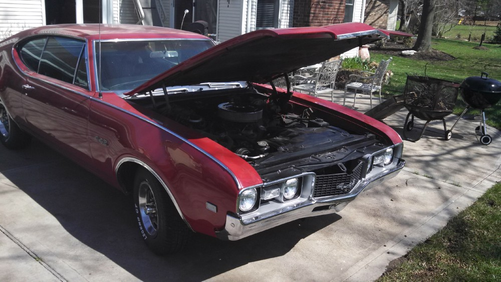 Used 1968 Oldsmobile 442 VERY CLEAN 442-FREE SHIPPING   Mundelein, IL