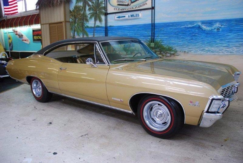 Used 1967 Chevrolet Impala -TRUE Super Sport 396 - FULLY RESTORED- GRANADA GOLD-   Mundelein, IL