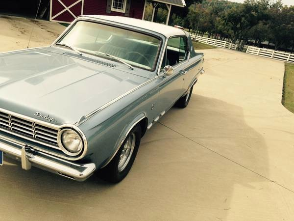 1965 Dodge Dart GT-CHARGER PACKAGE-Free Shipping Stock