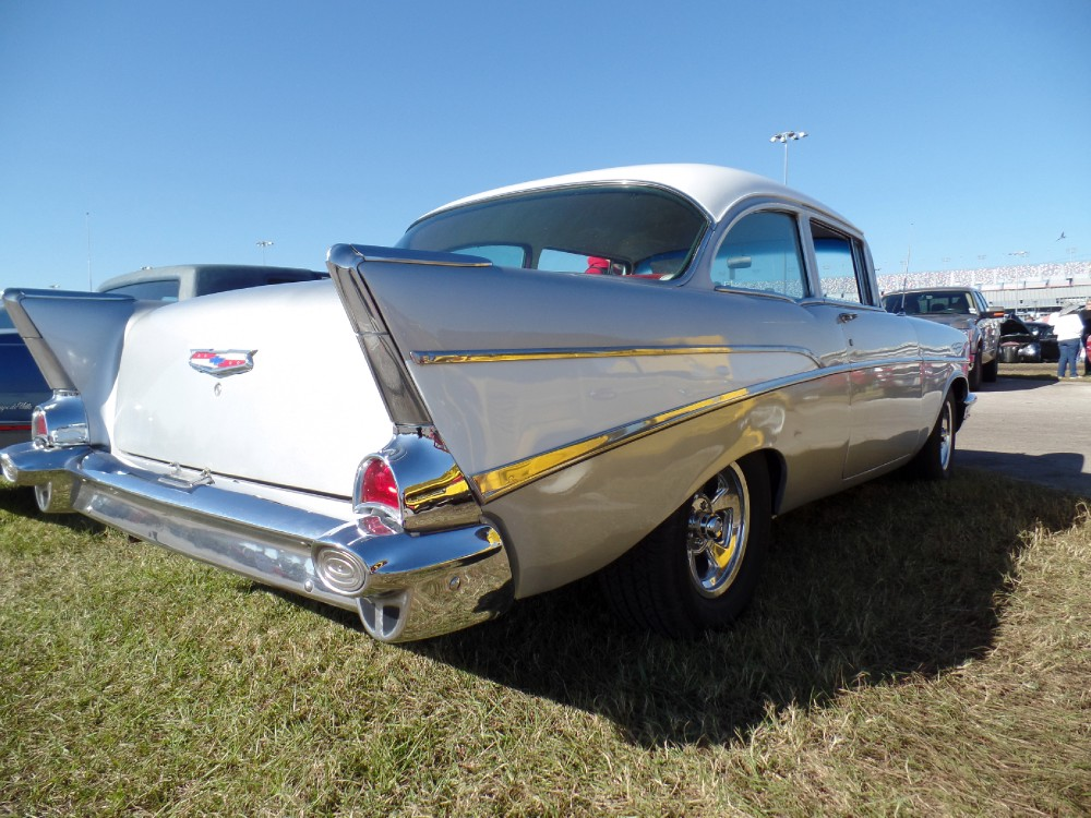 Used 1957 Chevrolet Bel Air 210 POST CAR-FREE SHIPPING | Mundelein, IL