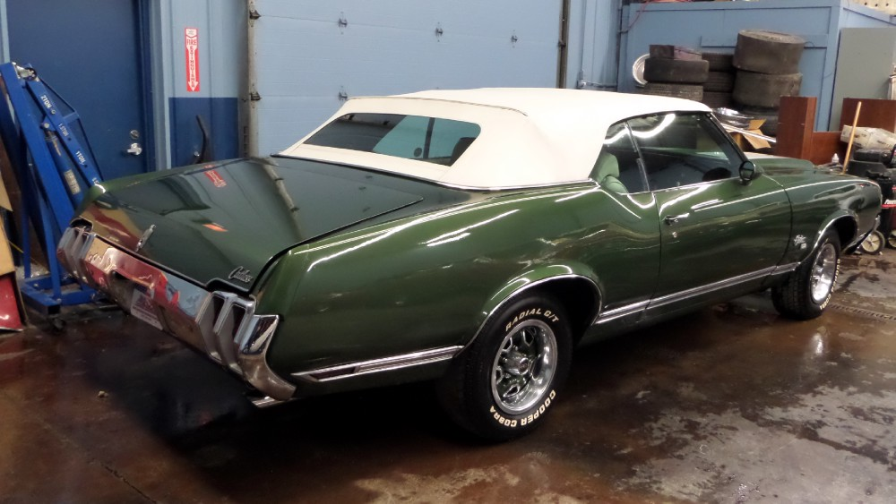 1970 Oldsmobile Cutlass Sx 1 Of 793 Built Rare Rag Top 455