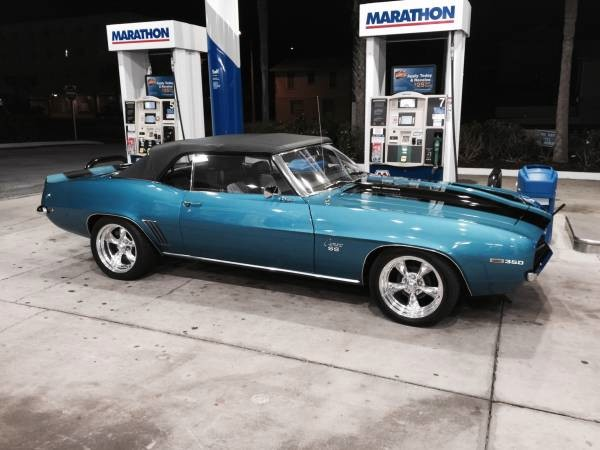 Used 1969 Chevrolet Camaro SS-CONVERTIBLE-MINT CONDITION-FREE SHIPPING | Mundelein, IL