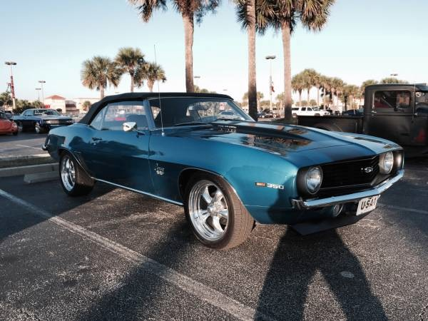 Used 1969 Chevrolet Camaro SS-CONVERTIBLE-MINT CONDITION-FREE SHIPPING   Mundelein, IL