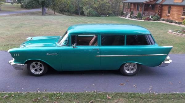 1957 chevrolet wagon 2 door restored free shipping stock for 1957 chevy two door wagon