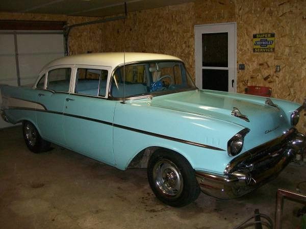 Used 1957 Chevrolet Bel Air 210 MODEL-WOW!-ORIGINAL 3900 MILES-PURE SURVIVOR | Mundelein, IL