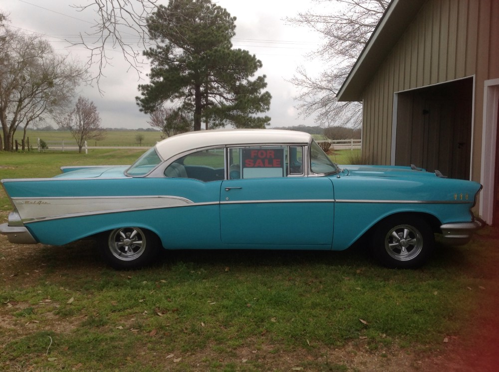 Used 1957 Chevrolet Bel Air REAL DEAL-CLASSIC CRUISER-SUPER CLEAN-NEW LOWER PRICE | Mundelein, IL