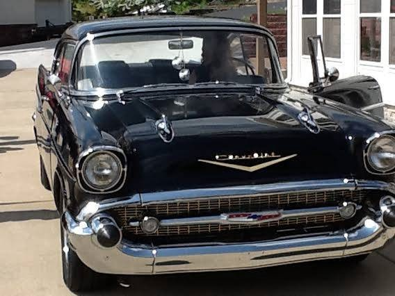 Used 1957 Chevrolet Bel Air REAL DEAL-BLACK BEAUTY | Mundelein, IL
