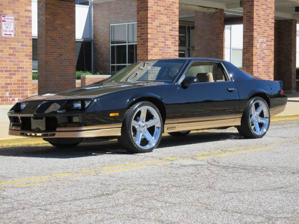 1982 chevrolet camaro restored stock 524indjs for sale. Black Bedroom Furniture Sets. Home Design Ideas