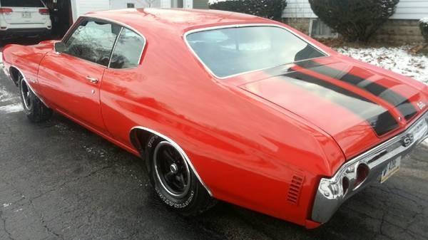 Used 1972 Chevrolet Chevelle FRAME OFF RESTORED | Mundelein, IL