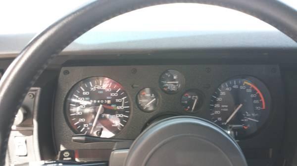 1989 Chevrolet Camaro Iroc Z28 Stock 8116cojs For Sale