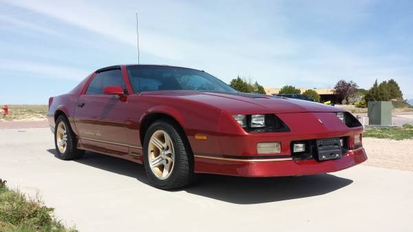 1989 Chevrolet Camaro Iroc Z28 Stock 8116cojs For Sale