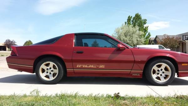 1989 Chevrolet Camaro Iroc Z28 Stock 8116cojs For Sale Near Mundelein Il Il Chevrolet Dealer