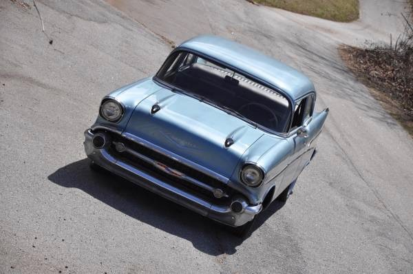 Used 1957 Chevrolet Bel Air Blue Beauty | Mundelein, IL