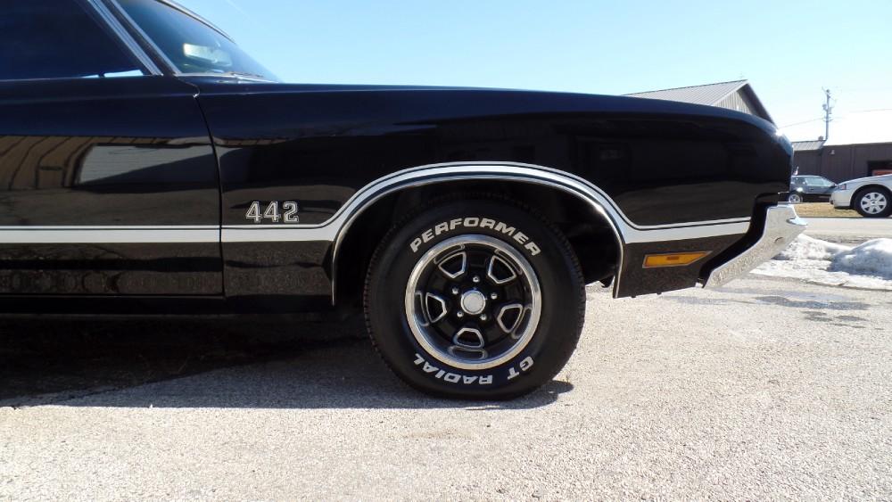 Used 1972 Oldsmobile 442 GREAT TRIPLE BLACK CLONE-ORIGINAL CUTLASS-SEE VIDEO | Mundelein, IL