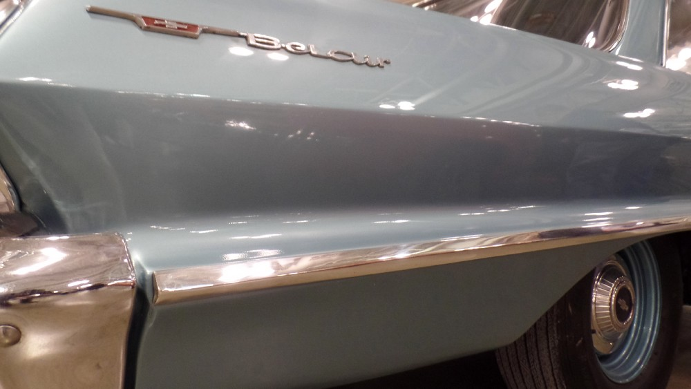 Used 1963 Chevrolet Bel Air VERY RARE-ALL ORIGINAL SHEETMETAL-RESTORED-SHE IS SO FINE MY 409 | Mundelein, IL