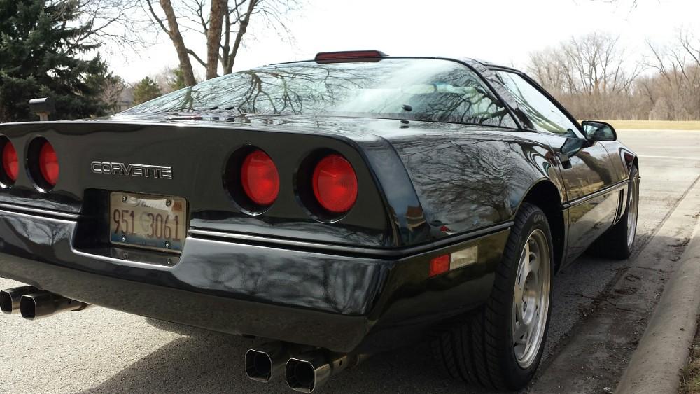 Used 1990 Chevrolet Corvette BLACK BEAUTY | Mundelein, IL