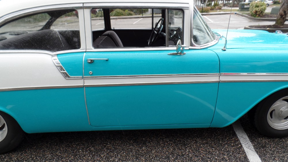 Used 1956 Chevrolet Bel Air RUNNING/DRIVING PROJECT BEL AIR-SOUTHERN CAR-EASY FINANCING-SEE VIDEO | Mundelein, IL