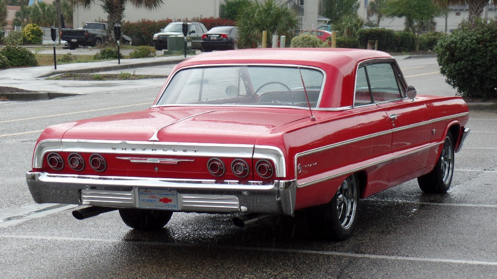 1964 chevrolet impala original red on red southern rust free car easy financing see video stock. Black Bedroom Furniture Sets. Home Design Ideas