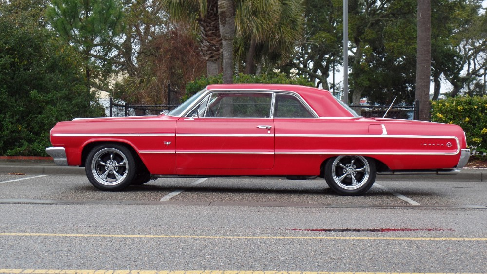 Used 1964 Chevrolet Impala ORIGINAL RED ON RED SOUTHERN RUST FREE CAR-EASY FINANCING-SEE VIDEO | Mundelein, IL