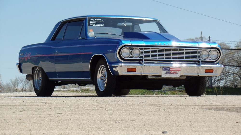 Used 1964 Chevrolet Chevelle MALIBU SS LOOK-SUPERCHARGED-SEE VIDEO | Mundelein, IL