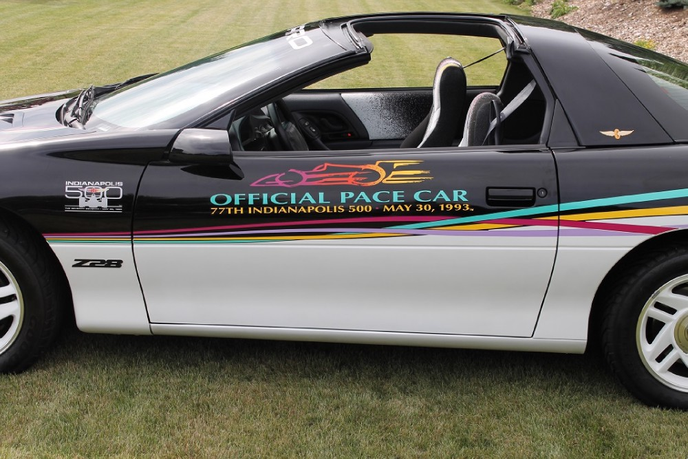 Used 1993 Chevrolet Camaro Z28-PACE CAR-ONLY 5,738 MILES-#224 out of #645 Built | Mundelein, IL