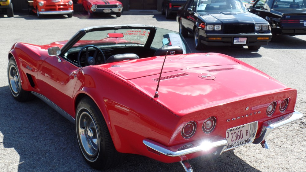 Used 1973 Chevrolet Corvette C3 CONVERTIBLE SOLID DRIVER STINGRAY-SUMMER FUN-SEE VIDEO | Mundelein, IL