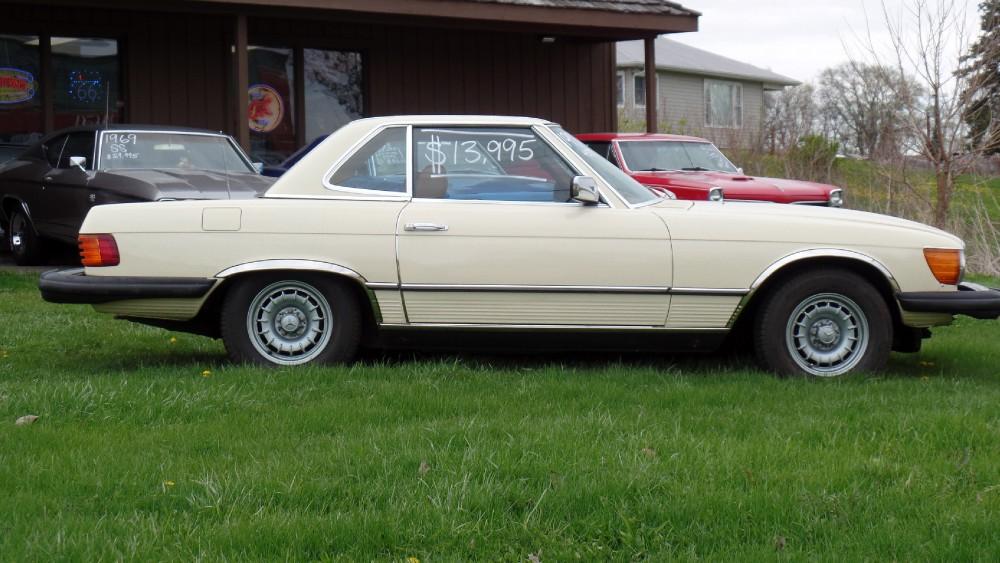 1978 mercedes benz 450sl convertible summer fun stock for Mercedes benz north america customer service