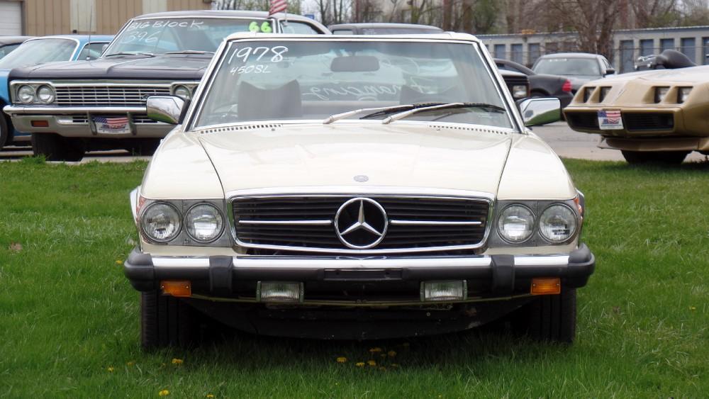 1978 mercedes benz 450sl convertible summer fun stock for Mercedes benz 450sl 1978