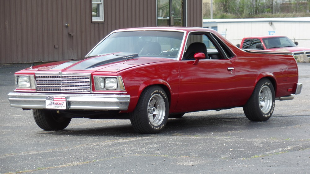 Used 1979 Chevrolet El Camino CANDY APPLE RED SHOW CAR | Mundelein, IL