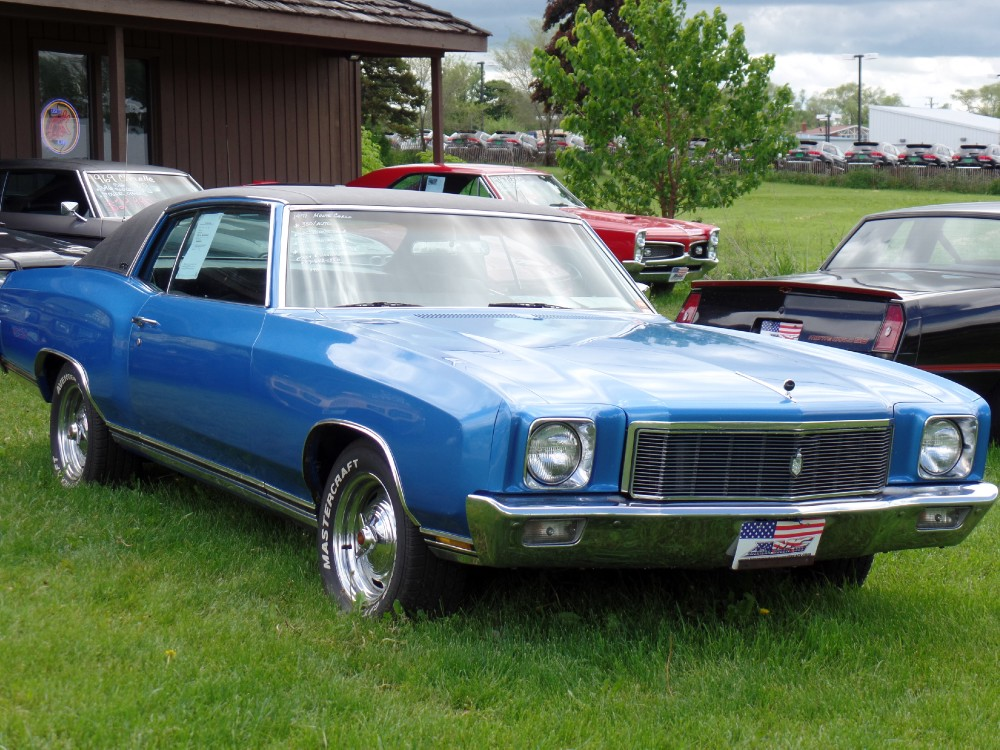Used 1971 Chevrolet Monte Carlo CLEAN BOWTIE-DRIVES GREAT-FACTORY AC CAR-SEE VIDEO | Mundelein, IL
