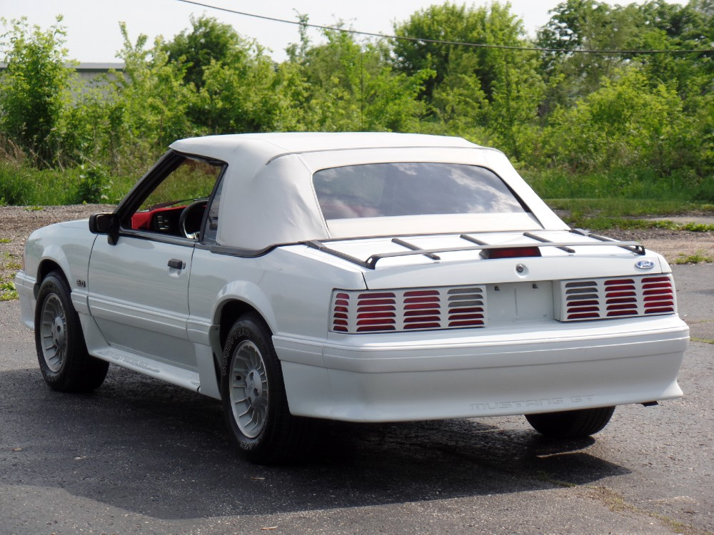 Used 1989 Ford Mustang GT-1 OWNER CAR-CONVERTIBLE-SUMMER FUN-LOW MILES-SEE VIDEO | Mundelein, IL