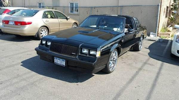 Used 1987 Buick Grand National V6 Turbo-FACTORY T TOPS | Mundelein, IL