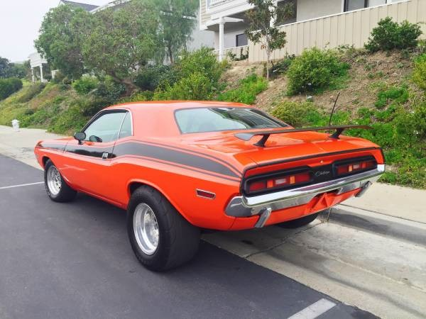 Used 1971 Dodge Challenger RESTORED NEWER HEMI ORANGE PAINT-600HP-BUILT 440 FROM CALIFORNIA-SEE VIDEO | Mundelein, IL